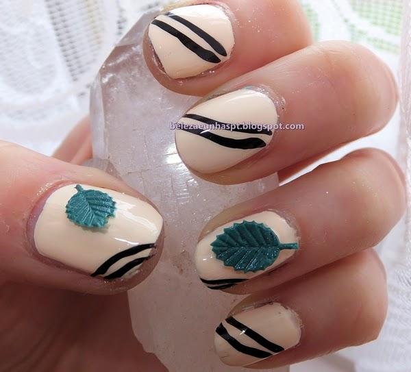 Nail Art folha