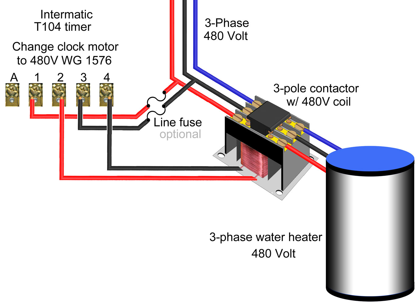 3 phase electric water heater wiring diagram act 5 keypad simultaneous eee community
