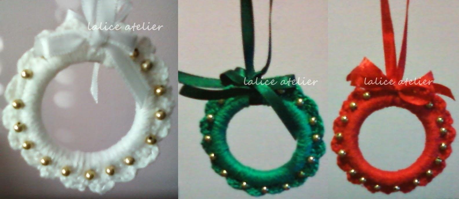 natal, decoração, crochê