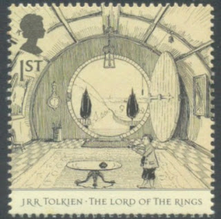 Lord of the Rings-The Hall at Bag End-Tolkien