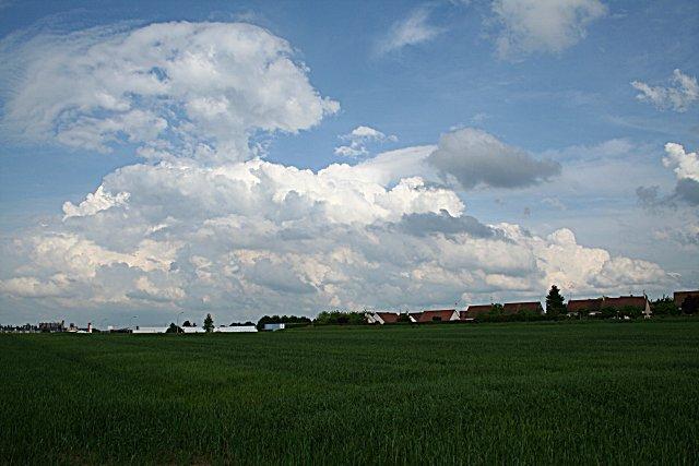 Ciel pré-orageux (mai 2009)