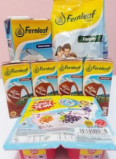 Fernleaf 100% Mmmmm : Susu Berkhasiat untuk Keluarga