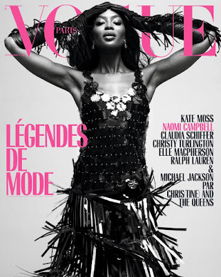 Naomi Campbell is coverstar for Vogue Paris latest issue
