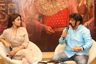 Shriya Saran Nandamuri Balakrishna at Gautamiputra Satakarni Team Press Meet Stills  0161.JPG