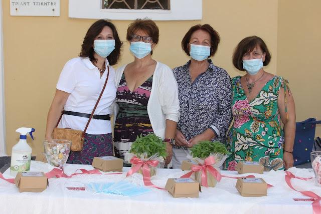 """Ο Σύλλογος Γυναικών Ζαγαρά ξεκίνησε τη νέα περίοδο δράσεών του από τον Άγιο Παντελεήμονα Λιβαδειάς με σύνθημα """"Μένουμε Υγιείς"""""""
