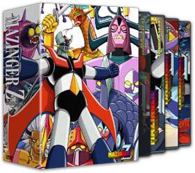 MAZINGER Z BOX 2 DVD