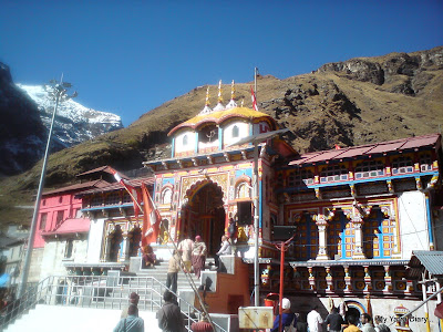 Badrinarayan Vishnu Temple in the Garhwal Himalayas