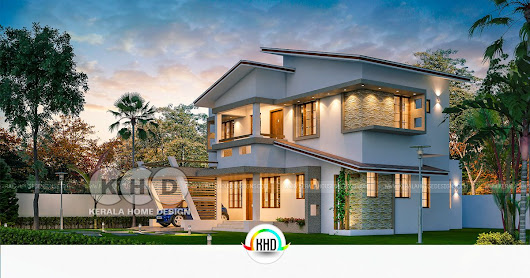 Design of a Ultra modern Classic style 4BHK house