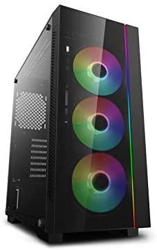 Review DEEPCOOL MATREXX 55 V3 ADD-RGB 3F PC case