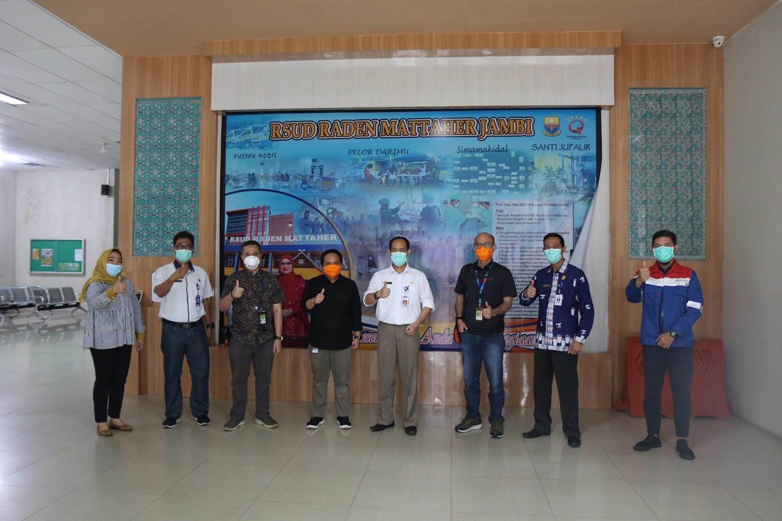 SKK Migas – KKKS Pertamina EP Asset 1 Jambi Field Bantu Ratusan APD Bagi Tenaga Medis RSUD Raden Mattaher Jambi