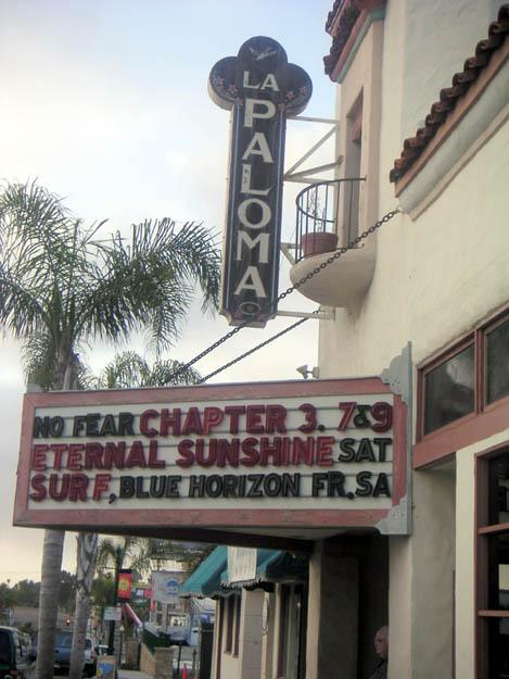 Encinitas 101 Mainstreet Association: Jerry's Brokendown Palaces: La Paloma Theatre, 471 South