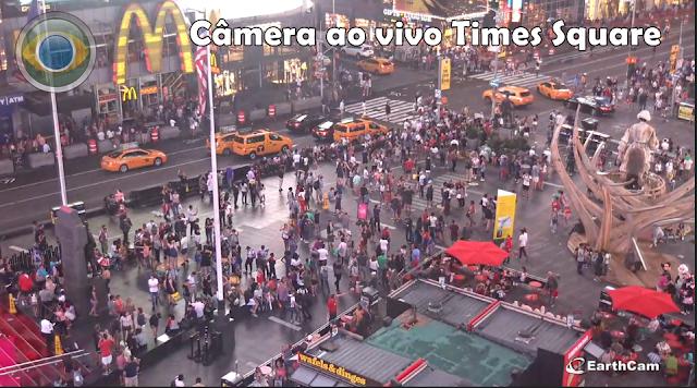 Câmera ao vivo da Times Square