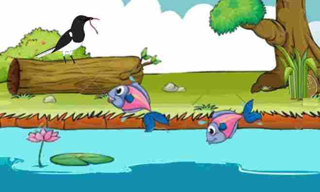 Dongeng Ikan dan Burung
