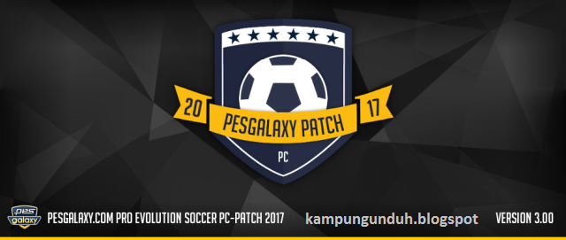 Pesgalaxy Patch 2017 3.00 All-In-One + Full Fix