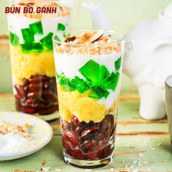 Chè Ba Màu - Three Colored Sweet Gruel