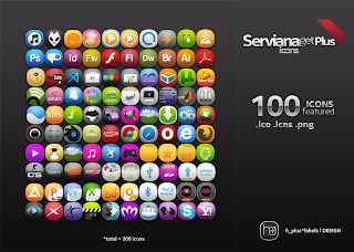 servianagetplus the icon - ServianaGetPlus Icons Pack (Windows / Mac)