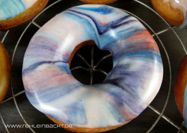 Galaxy Donuts | Foodblog rehlein backt