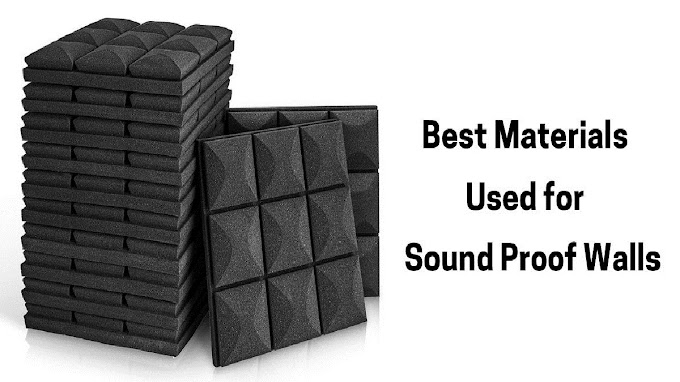 Best Materials Used for Making Sound Proof Walls