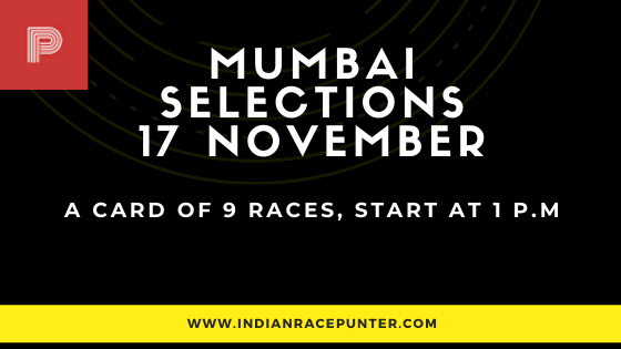 Mumbai Race Selections 17 November