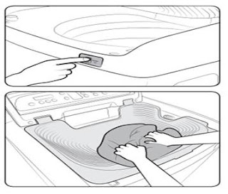 الحوض المضمن في الغسالة سامسونج فوق اتوماتيك13 كيلو