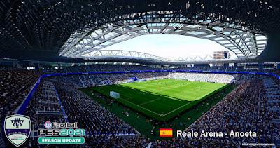 PES 2020 Stadium Reale Arena
