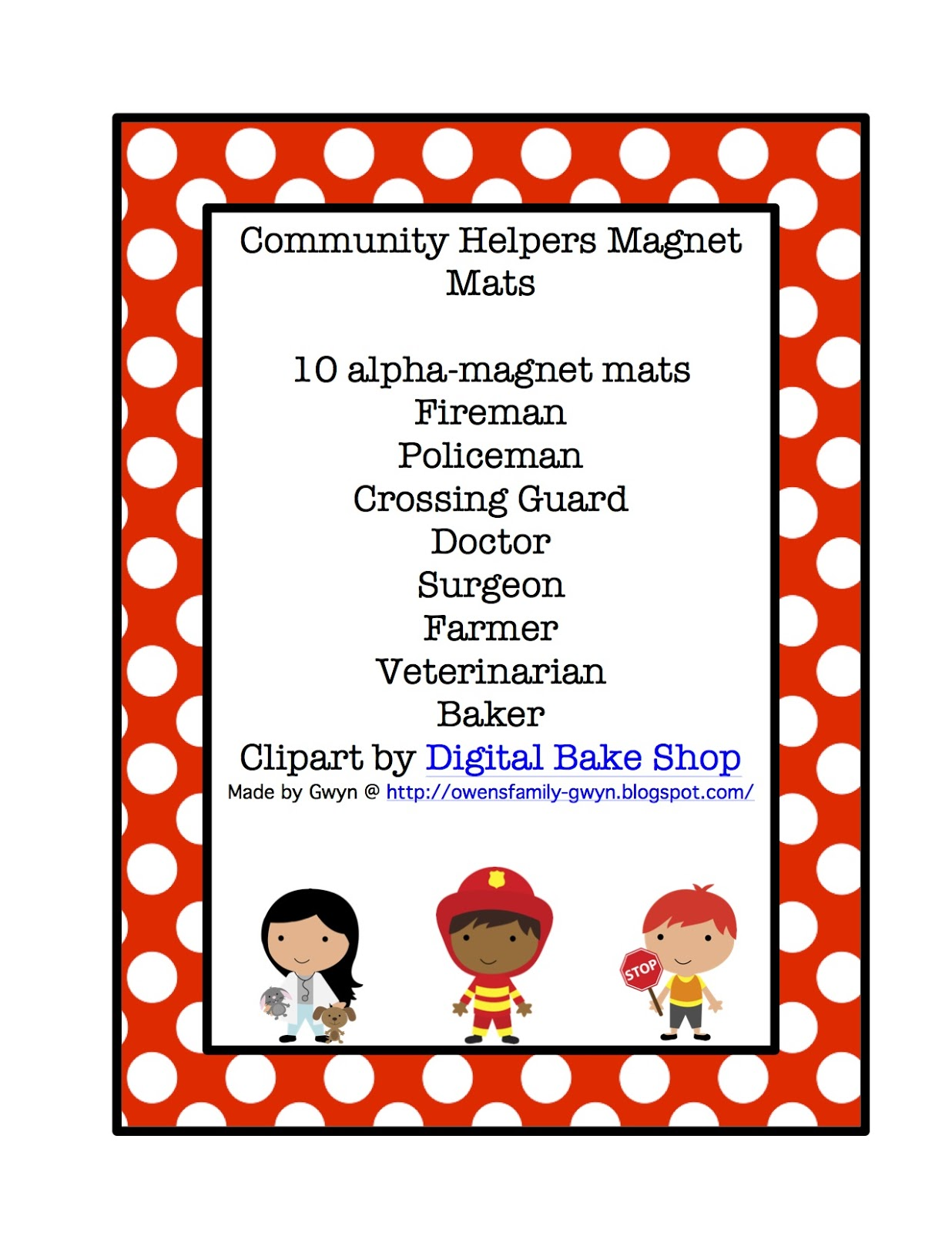 Images About Community Helpers