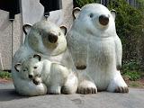 statuie ursi polari