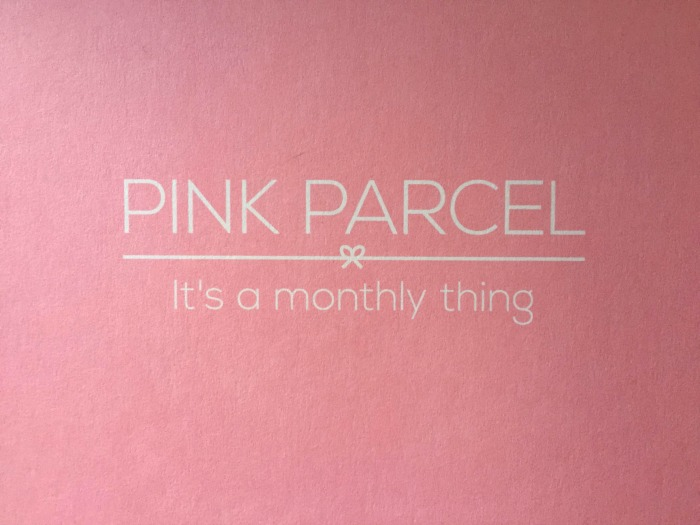 Pink parcel, it's a monthly thing