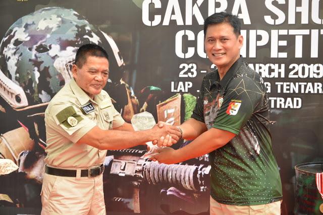 Pangdivif 2 Kostrad Buka Lomba Tembak Cakra Airsoft Shooting Competition 2019 di Malang