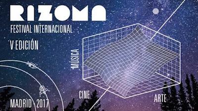 5ª edición del festival  RIZOMA de Madrid
