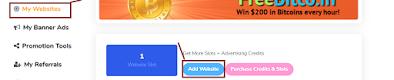 Adbtc's Add website