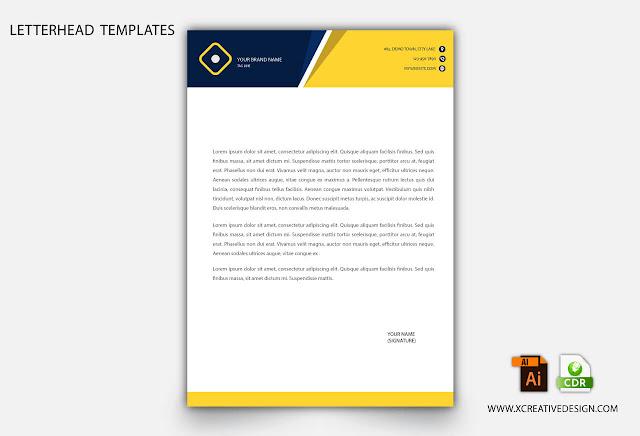 Professional creative letterhead design