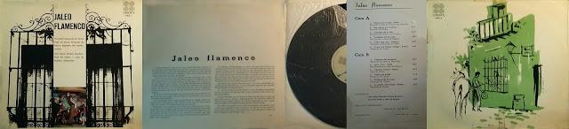 "Perrate de utrera participa en el disco *JALEO FLAMENCO"" ZAFIRO 1966"
