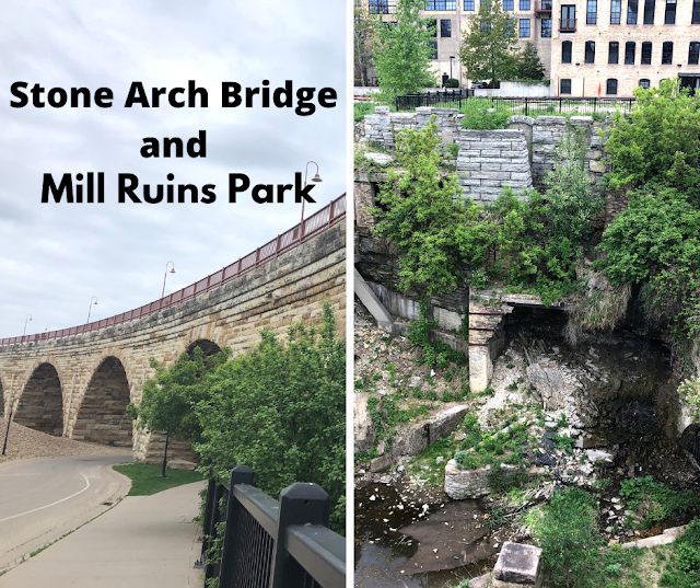 Rambling Along the Stone Arch Bridge and Mill Ruins Park in Minneapolis