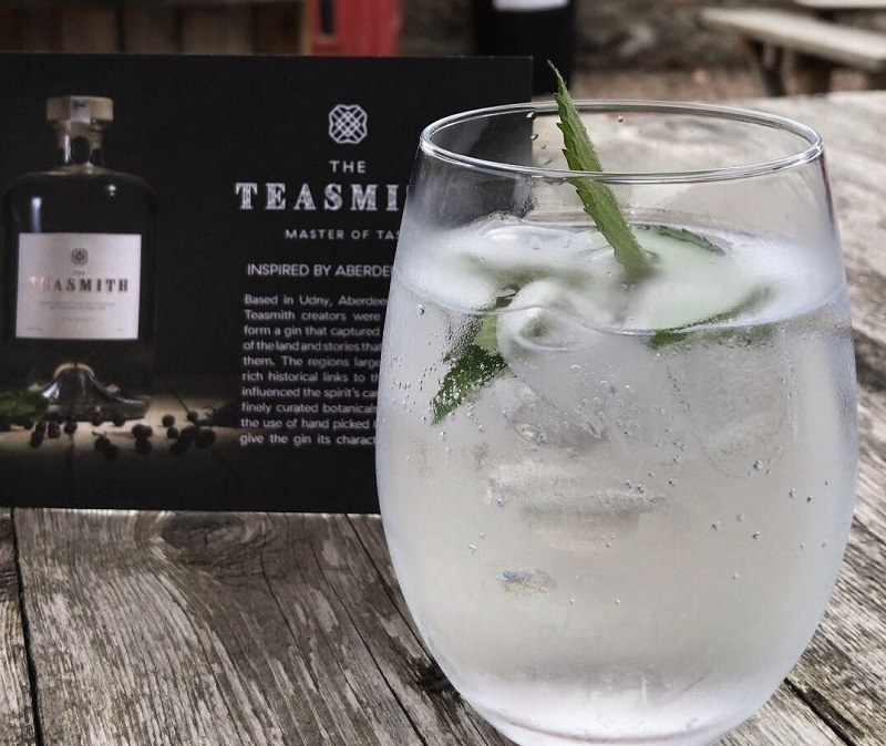 Teasmith gin and tonic at the Coffee Apothecary