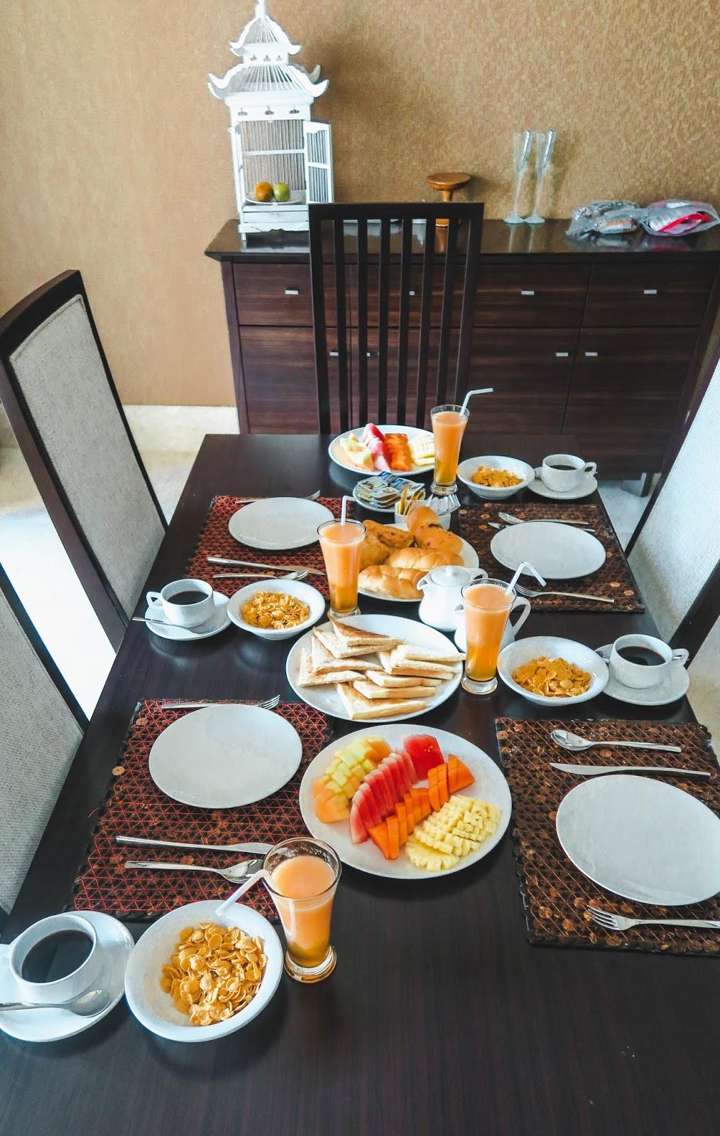 AYANA Resort & Spa Breakfast