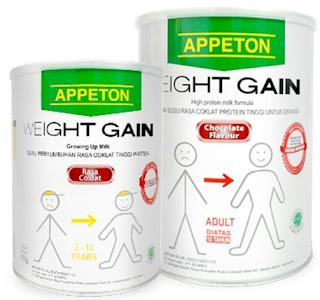 Appeton Weight Gain, Solusi Aman untuk Menambah Berat Badan Keluarga Anda