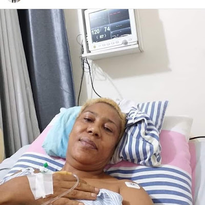I Sold My Car,Properties Inorder To Undergo Major Spinal Chord Operation..Nollywood Actress Shan George