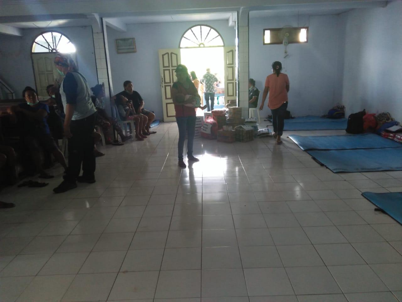 112 Warga yang Diungsikan, Pemerintah Daerah Salurkan Bantuan Dua Minggu Kedepan
