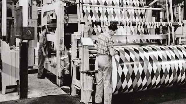 awal mula lantai vinyl di kembangkan