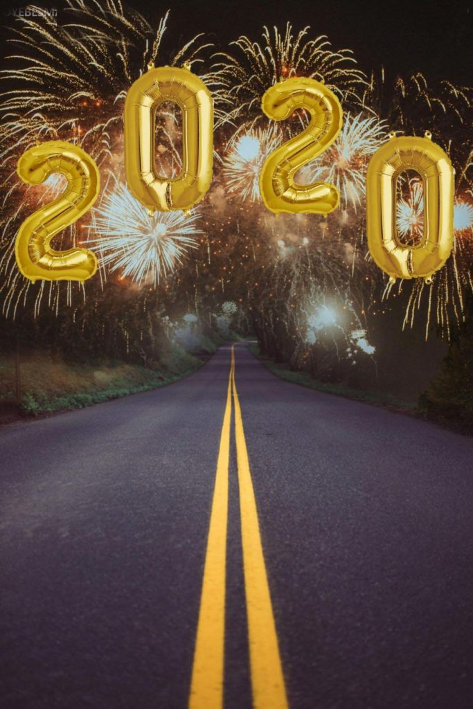 2020 picsart new year background