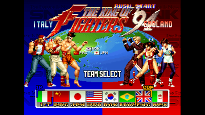 تحميل لعبة The King of Fighters Collection لأجهزة psp ومحاكي ppsspp