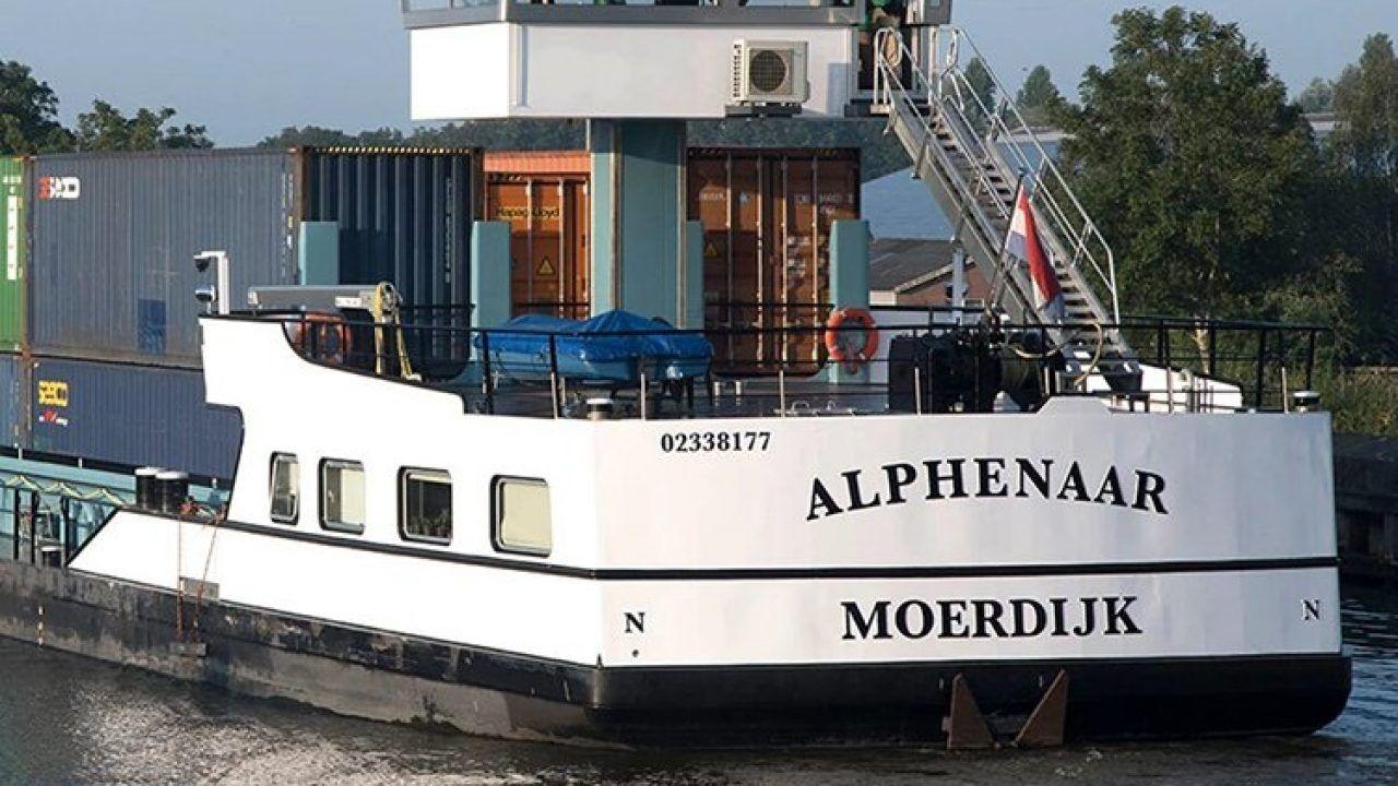Navios de carga movidos a baterias começaram a navegar na Holanda