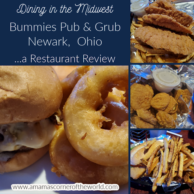 Pinnable Image for a Restaurant Review of Bummies Pub & Grub in Newark, Ohio