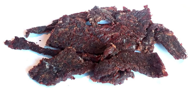 peppered teriyaki jerky