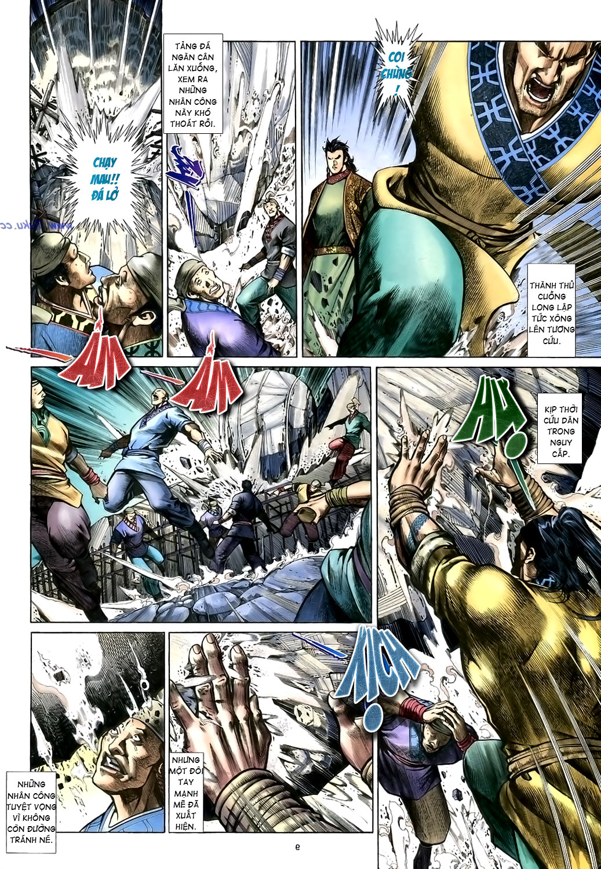 Anh hùng vô lệ Chap 15: Hổ thét long gầm người cạn chén  trang 10