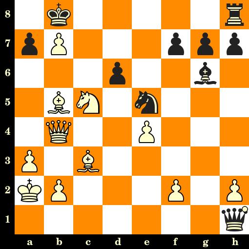 Les Blancs jouent et matent en 2 coups - Roberto Grau vs Edgard Colle, San Remo, 1930