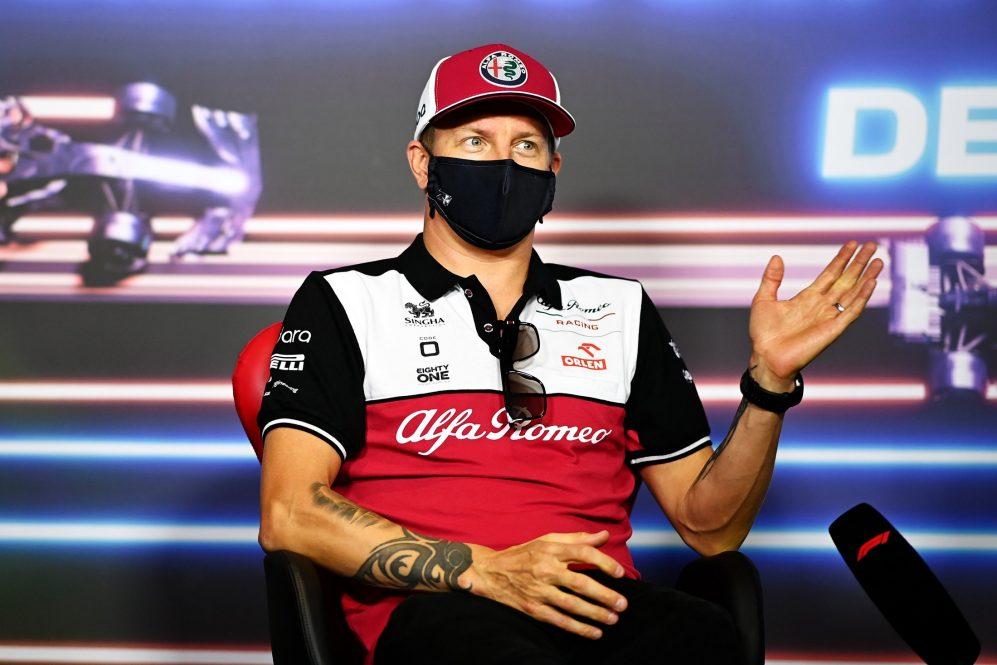 A Alfa Romeo estava empenhada em recrutar Raikkonen - mas ele permanecerá na equipe