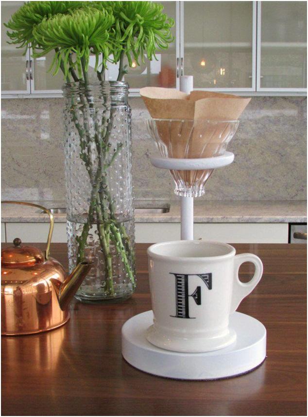 el yapımı Kahve Standı