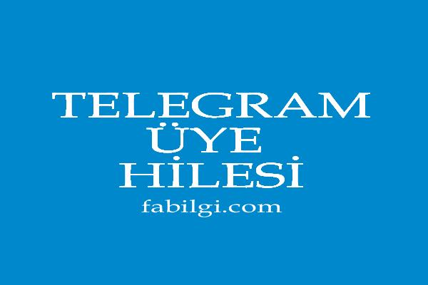 Telegram Üye Ekleme Hilesi Başka Gruptan Kişileri Alın 2021